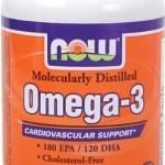 Now Foods, Omega-3, Herz-Kreislauf-Unterstützung, 200 Kapseln