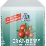 Avitale Cranberry Lutschtabletten, 120 Stück,  1er Pack (1 x 144 g)