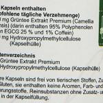 Hanoju Grüner Tee Extrakt, 90 Kapseln, Premium Qualität, 400 mg/ Kapsel, 1er Pack (1 x 45 g)