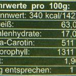 Hanoju Spirulina 400 mg 1250 Tabletten, 1er Pack (1 x 500 g)