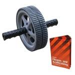 Bauchtrainer AB Wheel Bauchroller von BB Sport mit Anwendungsbroschüre